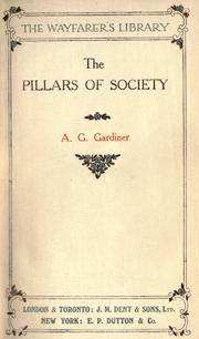 Cover of: Pillars of society