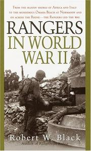 Cover of: Rangers in World War II