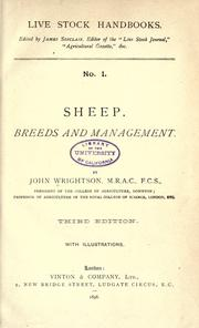 Cover of: Sheep: breeds and management