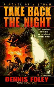 Cover of: Take Back the Night | Dennis Foley