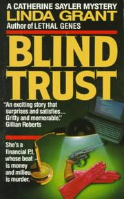 Cover of: Blind Trust (Catherine Sayler Mystery)