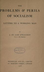 Cover of: The problems & perils of socialism