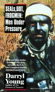 Cover of: SEALs, UDT, frogmen | Darryl Young