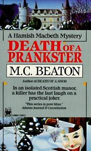 Cover of: Death of a Prankster (Hamish Macbeth Mysteries)