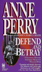 Cover of: Defend and betray