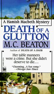 Cover of: Death of a Glutton