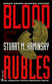 Cover of: Blood and Rubles (Inspector Porfiry Rostnikov Mystery)