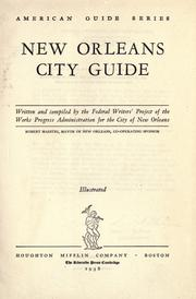 Cover of: New Orleans City Guide | Federal Writers
