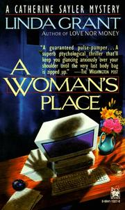 Cover of: Woman's Place (Catherine Sayler Mystery)