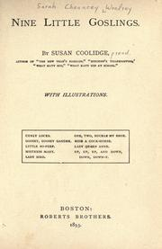 Cover of: Nine little goslings