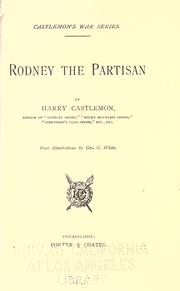 Cover of: Rodney the partisan