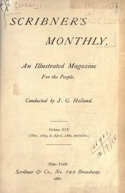 The Century illustrated monthly magazine. by