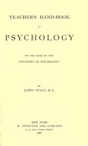 Cover of: The teacher's handbook of psychology