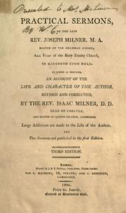 Cover of: Practical sermons