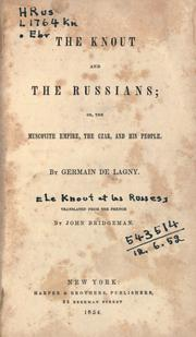 Cover of: The knout and the Russians