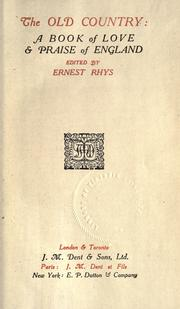 Cover of: The old country