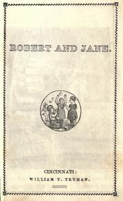 Cover of: Robert and Jane |
