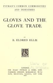 Cover of: Gloves and the glove trade
