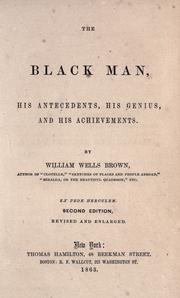 Cover of: The black man
