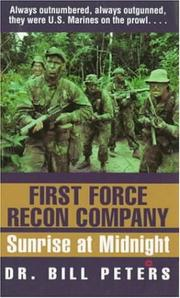 First Force Recon Company by Peters, Bill Dr.