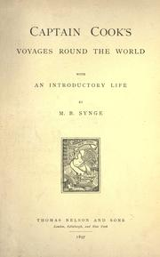 Cover of: Voyages round the world: With an introductory life by M.B. Synge.