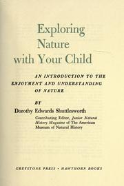 Cover of: Exploring nature with your child