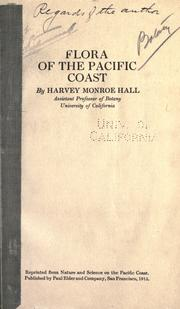 Cover of: Flora of the Pacific Coast