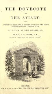 Cover of: The dovecote and the aviary