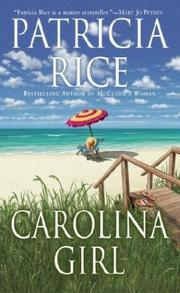 Cover of: Carolina Girl (McCloud Brothers) | Patricia Rice