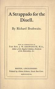 Cover of: A strappado for the Diuell
