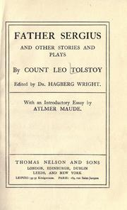 Geṿehlṭe ṿerḳ by Leo Tolstoy