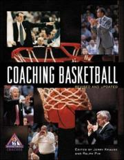 Cover of: Coaching basketball |
