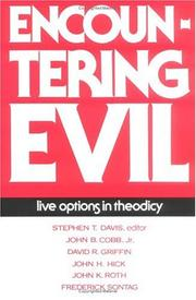 Cover of: Encountering evil |