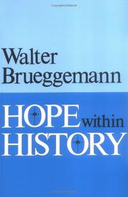 Cover of: Hope within history