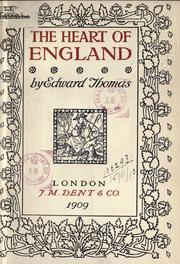 Cover of: The heart of England