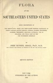 Cover of: Flora of the southeastern United States