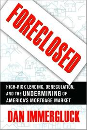 Cover of: Foreclosed