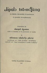Cover of: A Sechuana reader
