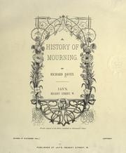 Cover of: A history of mourning