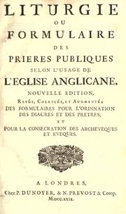 Cover of: Liturgie | Church of England