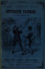 Cover of: Gwynneth Vaughan: a drama in two acts