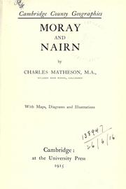 Cover of: Moray and Nairn