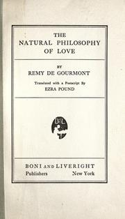 Cover of: Physique de lʹamour