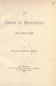 Cover of: The cross of Monterey