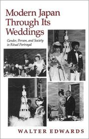Cover of: Modern Japan Through Its Weddings