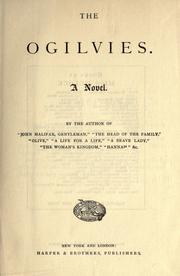 Cover of: The Ogilvies: a novel