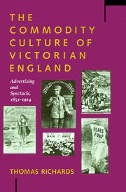 Cover of: The Commodity Culture of Victorian England