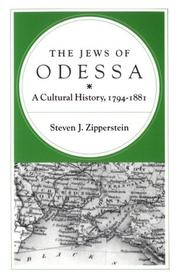 Cover of: The Jews of Odessa