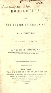 Cover of: Homiletics: or, The theory of preaching.