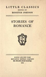 Cover of: Stories of romance